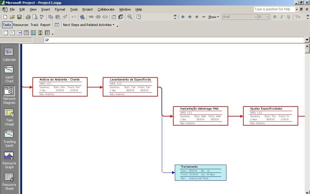 6 3 S1 Diagrama De Rede De Cronograma Do Projeto